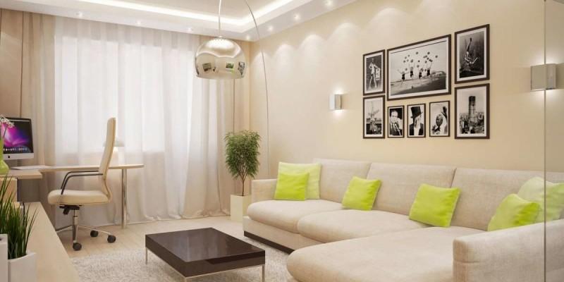 Оформление гостиной в малогабаритной квартире