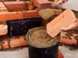 Смесь для кладки печи из кирпича: пропорции, правила замеса своими руками