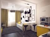 Дизайн студии 28 кв. м: фото, современные варианты интерьеров, проекты, советы по отделке и меблировке