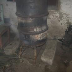 Печь для гаража длительного горения — варианты, чертежи, изготовление своими руками