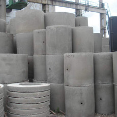 Кольца бетонные для канализации: размеры и объем