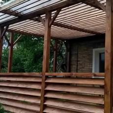 Веранда на даче: дизайн, фото и проекты открытых летних и закрытых остекленных построек
