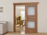 Раздвижная дверь межкомнатная одностворчатая — виды, способы установки, монтаж своими руками