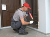 Откосы входной двери: варианты отделки и инструкция по отделке своими руками