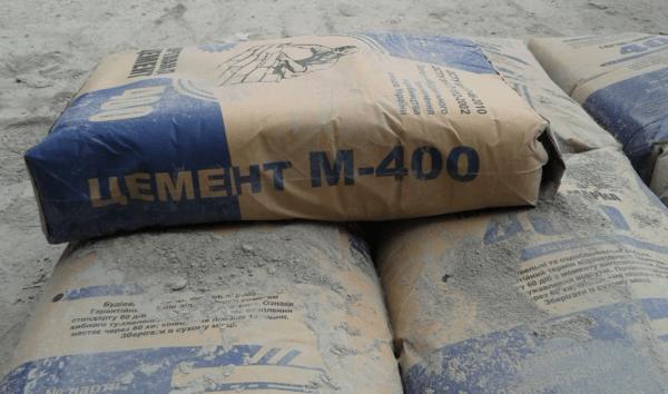 Для изготовления бетона чаще всего используется цемент М400