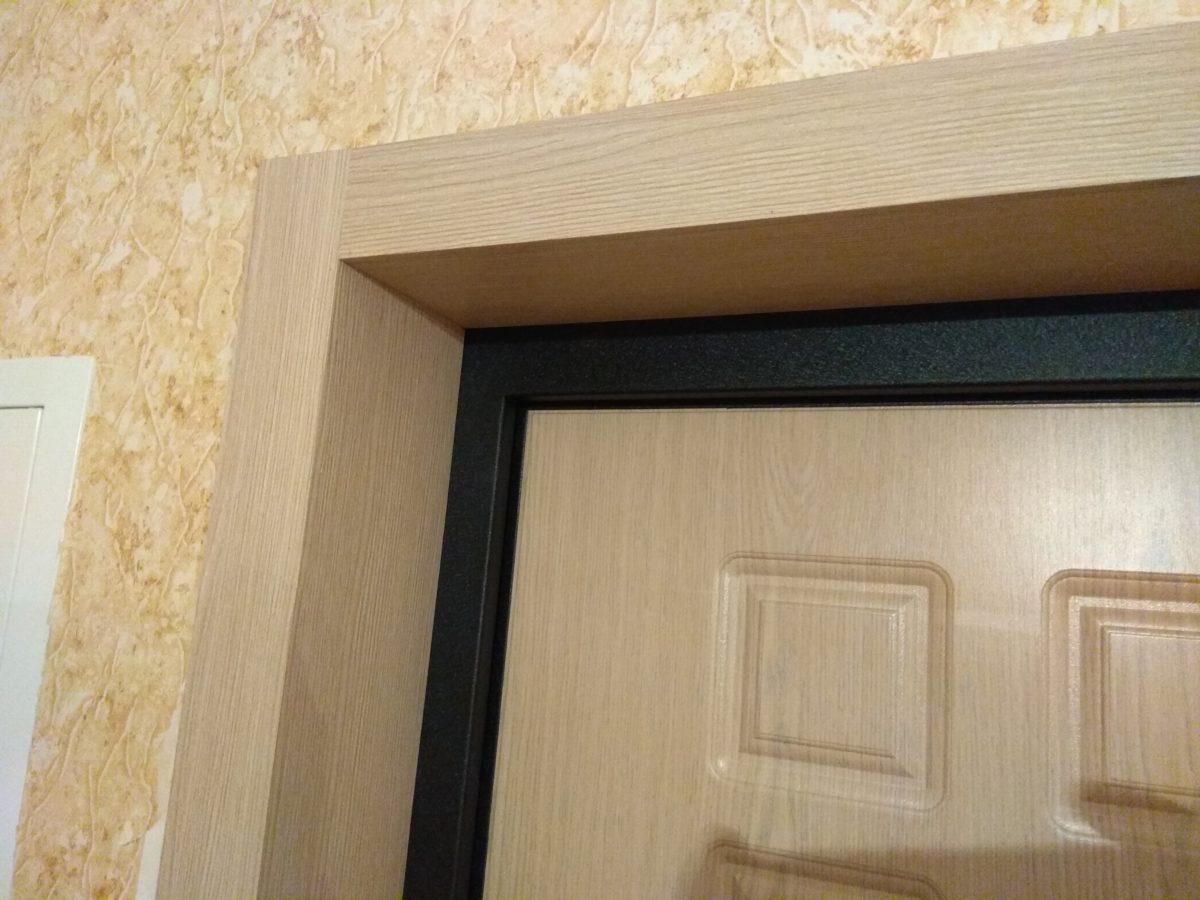 Пластиковые откосы на дверь входную фото плоский