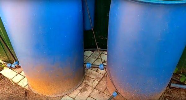 Желательно, чтобы резервуары были в форме бочки