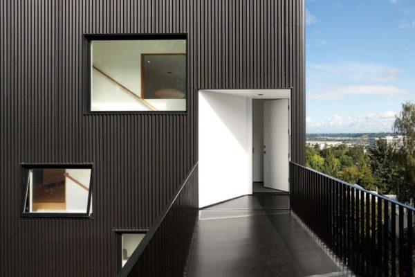 Металлический фасад – современно и красиво