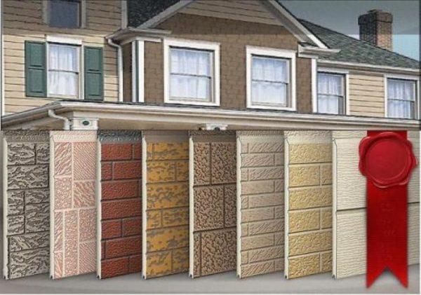 Панели фасадные для наружной отделки