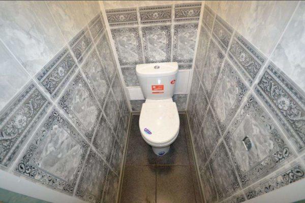 Ремонт туалета пластиковыми панелями своими руками