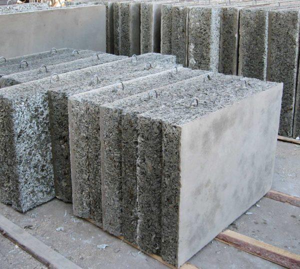 Стеновые арболитовые панели
