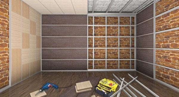 Стеновые панели - это быстрый и недорогой ремонт, и при этом аккуратный и стильный внешний вид помещения