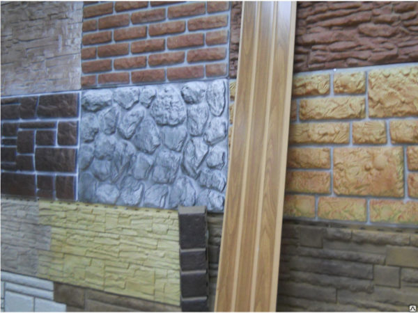 Фасадная панель ПВХ
