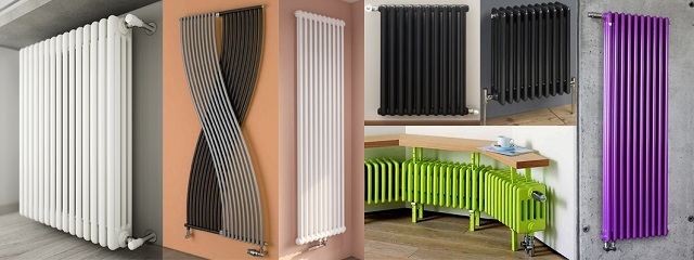 Разнообразие моделей трубчатых радиаторов – по конфигурации, размерам, расцветке.