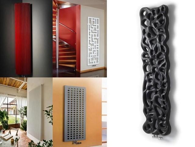 Существуют стальные трубчатые модели, которые способны не только обогреть помещение, но и в полной мере выполнять функции декоративного настенного панно. Некоторые способны выступать в качестве ажурной перегородки, например, в совмещенном санузле.