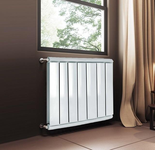 Алюминиевые радиаторы могут различаться не только размерами, но и формой.