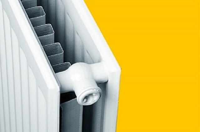 Вариант конструкции панельного стального радиатора.