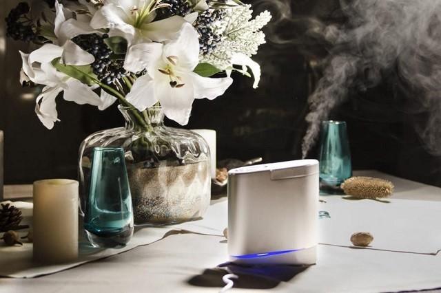 Компактный прибор для увлажнения воздуха не займет много места и поможет создать комфортный микроклимат в жилых помещениях.
