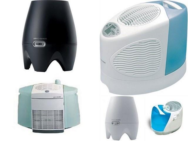 Самое бесхитростное устройство имеют увлажнители воздуха с естественным испарением воды.