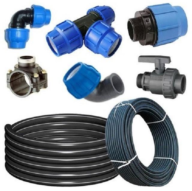 Трубы ПНД и фитинги к ним – отличный «конструктор» для создания системы водопровода из колодца