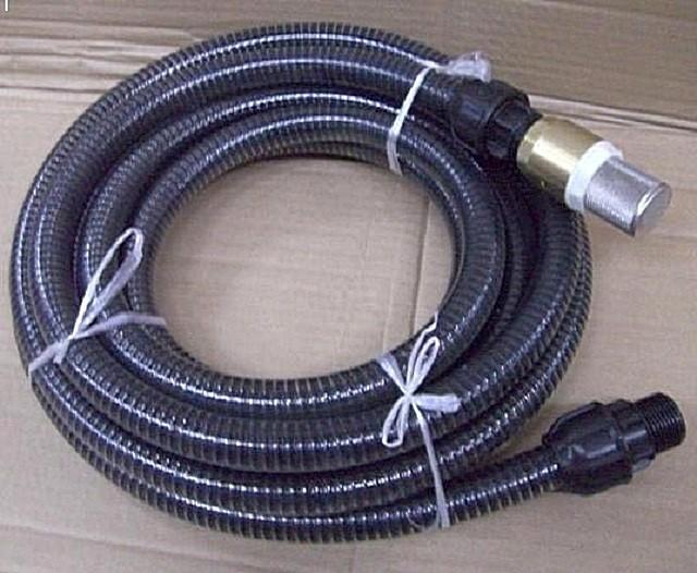 Готовый водозаборный шланг с обратным клапаном.