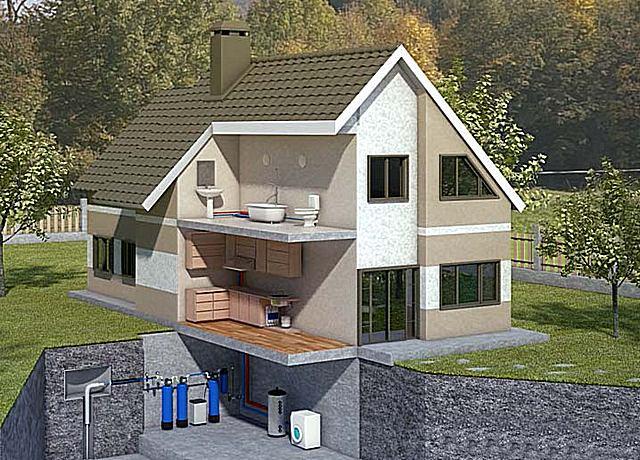 Водоподготовка для частного дома