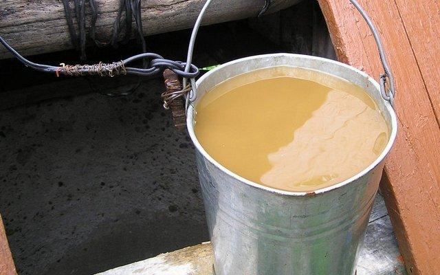 Порой даже безо всяких анализов по внешнему виду воды из колодца видно, что употреблять ее без очистки никак нельзя.