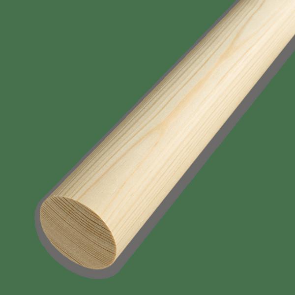 Круглый деревянный брус