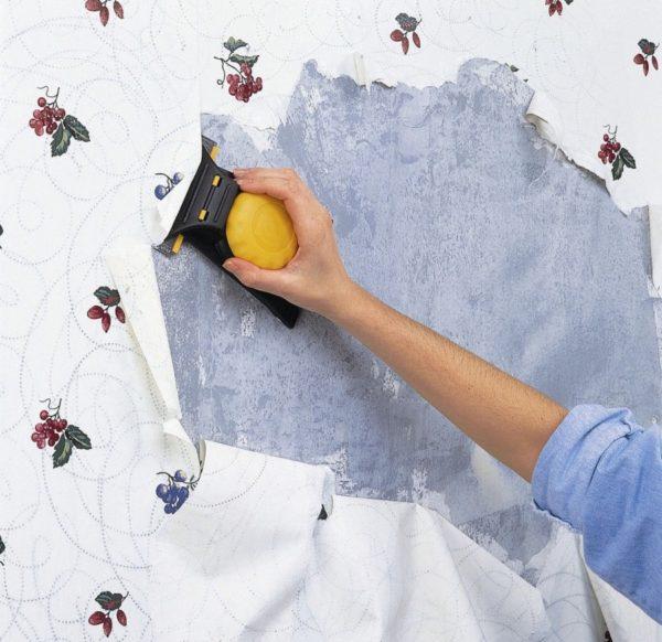 Как быстро снять старые обои со стен — 4 эффективных способа