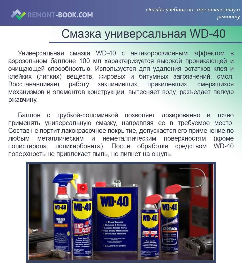 Смазка универсальная WD-40