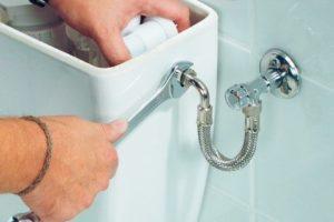 Шаг 1 – отключение воды