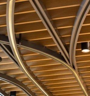 Пластинчатый потолок из МДФ