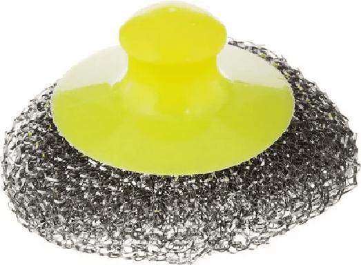 Если на решетке останутся загрязнения, то их можно удалить металлической мочалкой