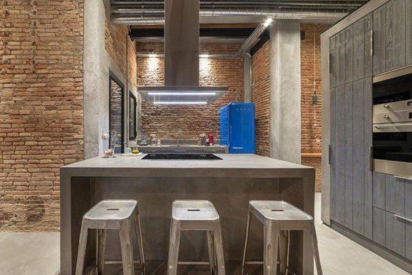 Из бетона может быть изготовлена даже мебель