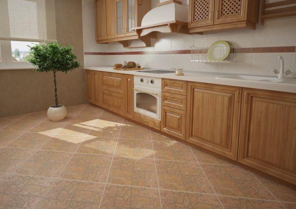 Плитка была и остается лучшим покрытием для кухонь