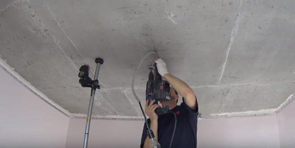 Сверление отверстий под крепеж