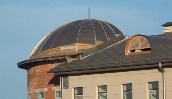 Комбинация скатов и купола