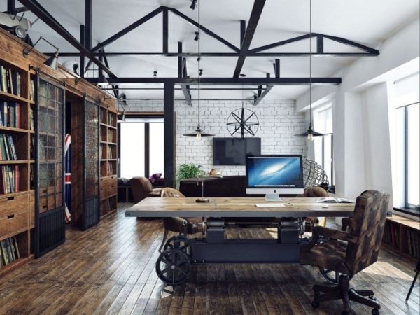 Декоративные металлоконструкции на потолке