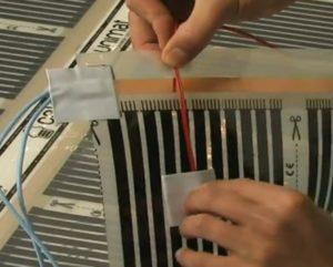 Шаг 5 – установка термодатчика