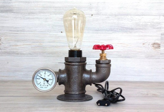 Несколько деталей – и светильник готов