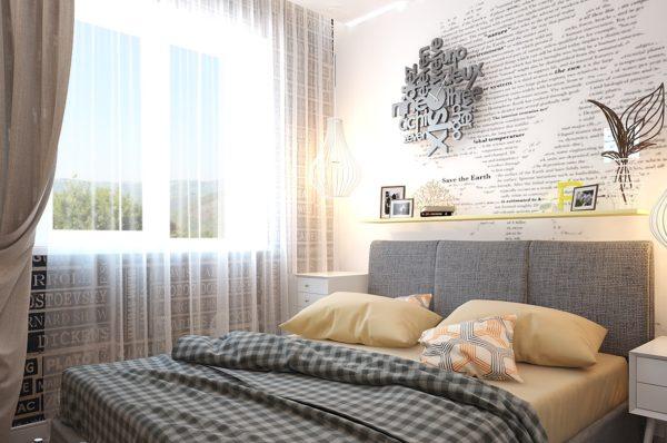 Для окон предпочтительно выбирать тюль и шторы из легких материалов