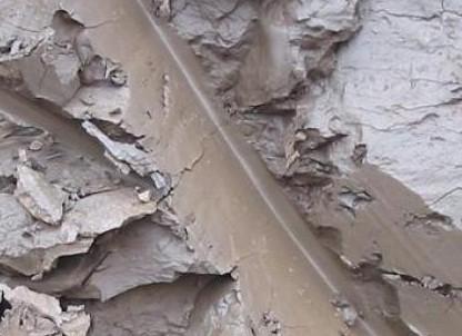 По срезу глины можно определить наличие извести