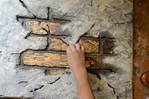 Шаг 10 – декорирование бронзой
