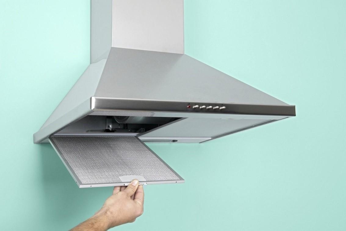 Установка вытяжек на кухне в картинках