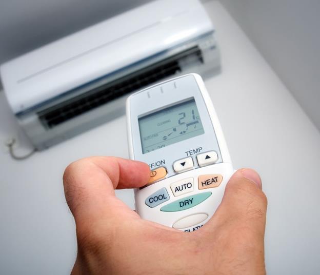 Как включить теплый воздух на кондиционере dantex