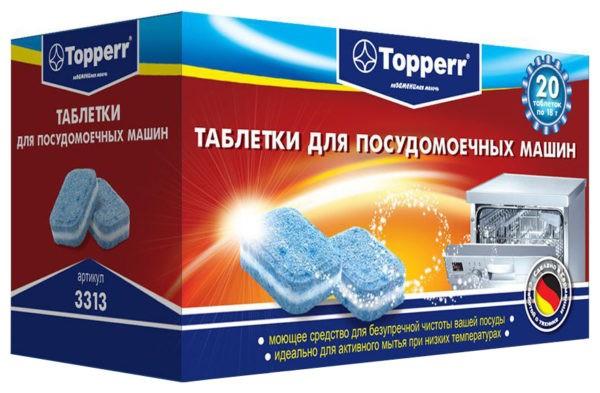 Устранение запаха с помощью таблеток для посудомоечных машин