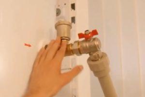 Ошибка 5. Отсутствие клапана для сброса воздуха