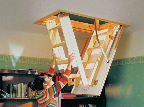 Складные чердачные лестницы – удобный и комфортный вариант