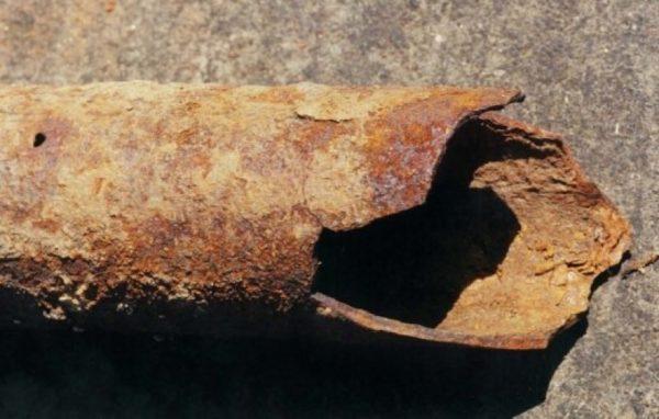 Конденсат способствует коррозии металла