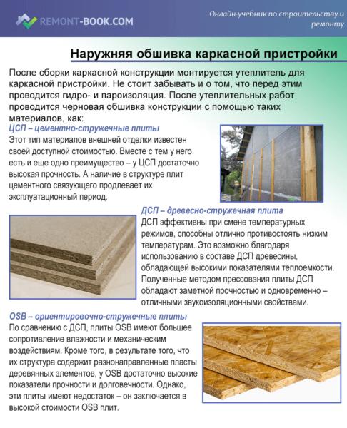 Как крепить пристройку к деревянному дому?